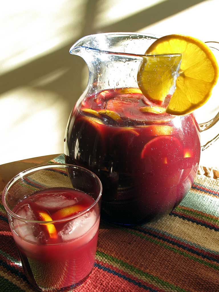 Sangria : Typical for Spain and Portugal, but also for Boston's ...