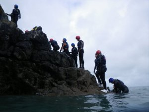 Coasteering with Preseli Venture