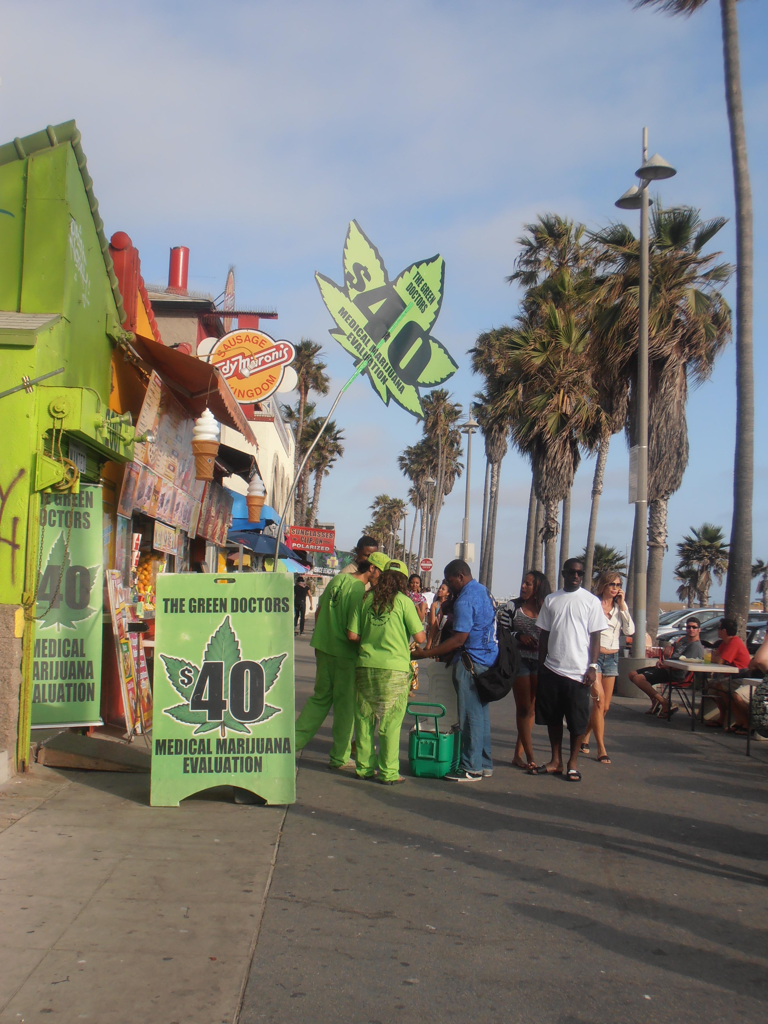 California Dreaming: Venice Beach Is A Freakshow!